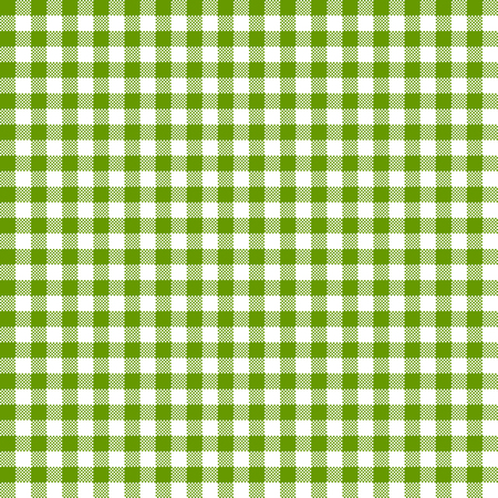 vintage checkered table cloth background colored green