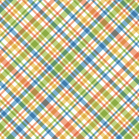 napkin: seamless abstract checkered background with multi colored lines