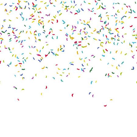 invitacion fiesta: fondo transparente con diferentes confeti de colores para el tiempo del partido