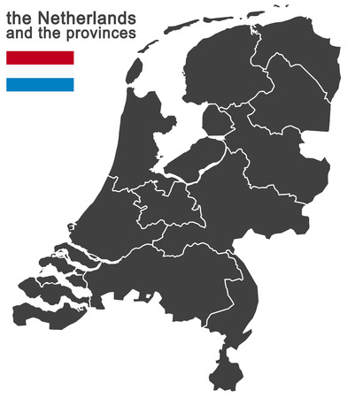 north brabant: european country the netherlands and all provinces
