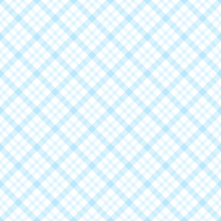 blue light background: abstract vintage checkered table cloth background colored light blue