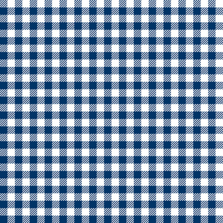 cloths: vintage checkered table cloth background colored blue Illustration