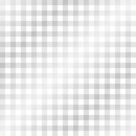 endless: Checkered tablecloth pattern SILVER - endless Illustration