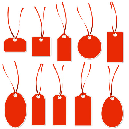 collection red: Pendant Collection - red and white