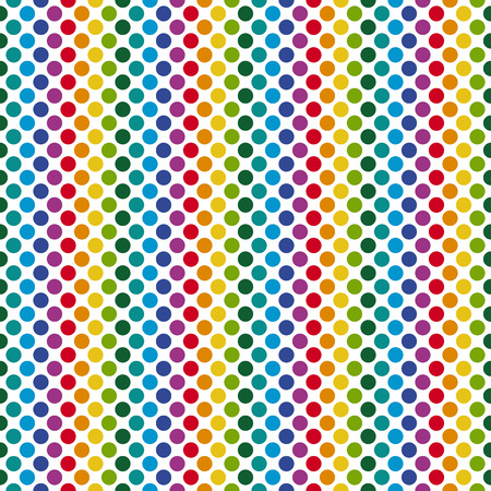 dot pattern: Endless colorful background points