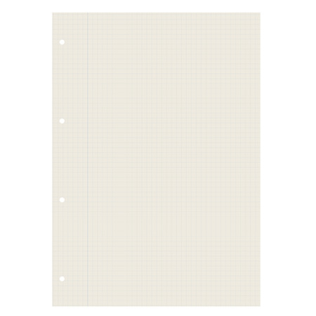 din: blank paper recycling checkered