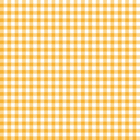 cloths: Checkered tablecloth pattern ORANGE endlessly Illustration