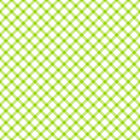 seamless green colored checkered table cloth pattern for background design