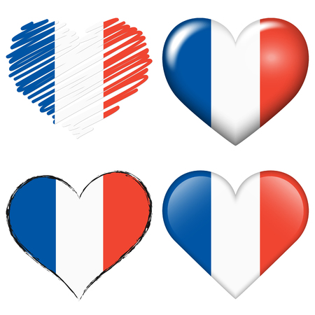 to adore: collection of france icon hearts for soccer game