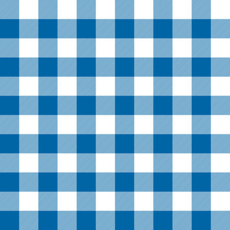 seamless checkered table cloth background colored blue