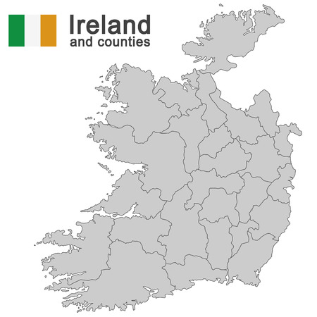 details: european country Ireland and counties in details