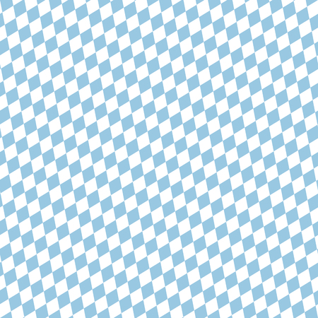 seamless blue and white checkered Oktoberfest background