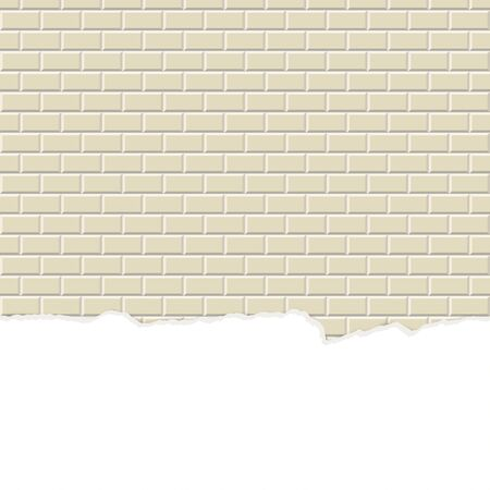 plaster wall: seamless colored stone wall background with broken plaster