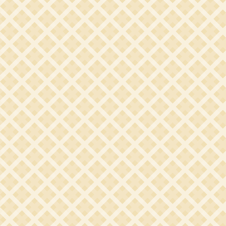 seamless yellow colored checkered table cloth background Vektorové ilustrace