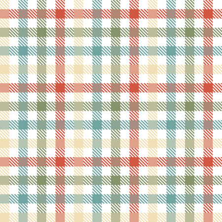 country farms: seamless four colors checkered table cloth pattern for background design