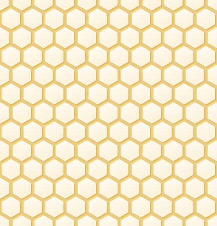 seamless orange colored honey comb background