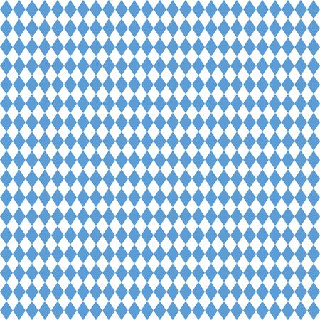 oktoberfest background: blue and white checkered seamless Oktoberfest background