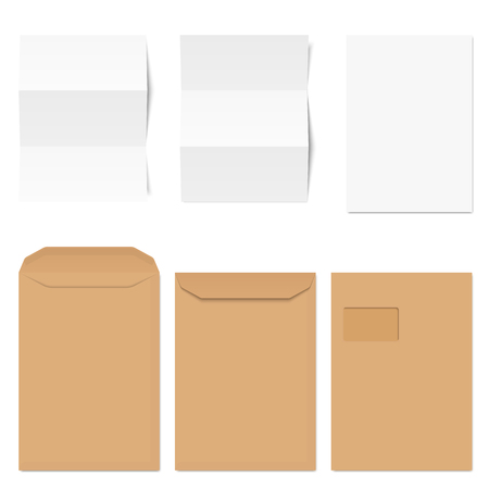 collection of red envelopes and empty white note papers