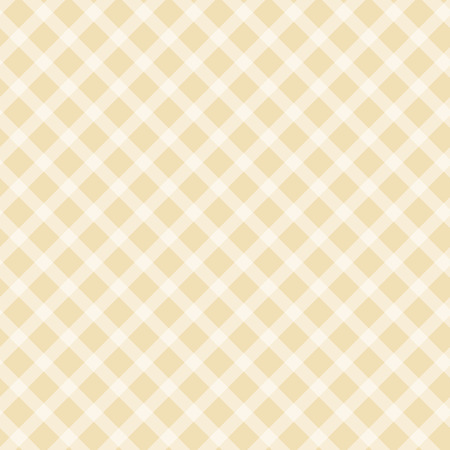 country farms: seamless yellow colored checkered table cloth background Illustration