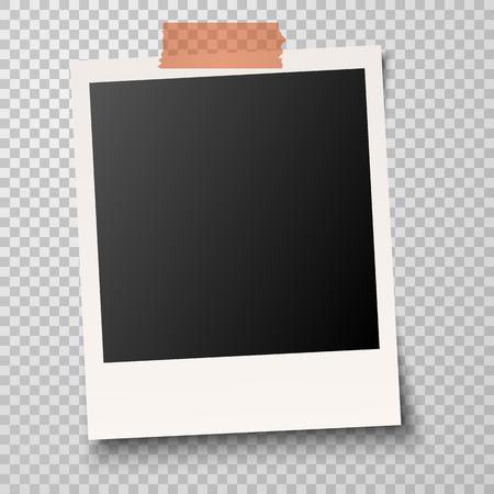 Alte Bilderrahmen mit Transparenz zeigt Schatten Standard-Bild - 65187080