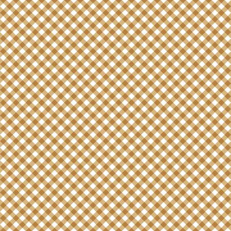 endless checkered table cloth background colored brown