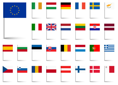 ireland flag: flags collection of all european union countries