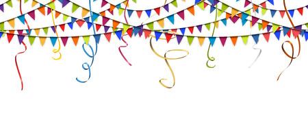 Sfere colorate senza giunte e strisce di strisce per l'uso del partito o del festival Archivio Fotografico - 82678144