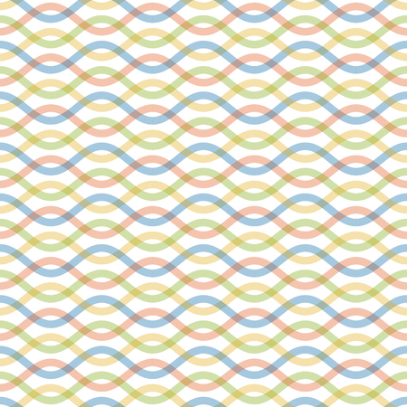seamless background with abstract waved pattern with light colors