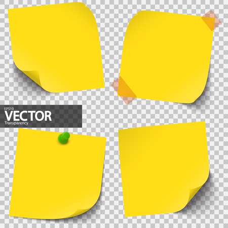 Sticky notes collection.