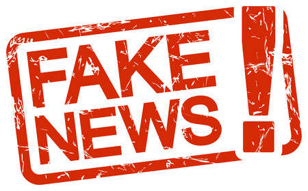 undemocratic: Fake news alert. Illustration