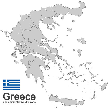 European country Greece and administrative divisions