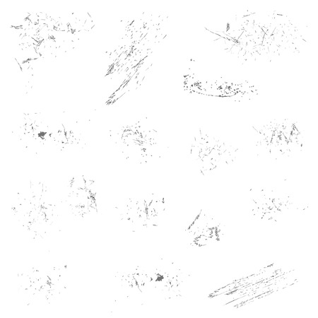 vector of grunge vintage elements in groups