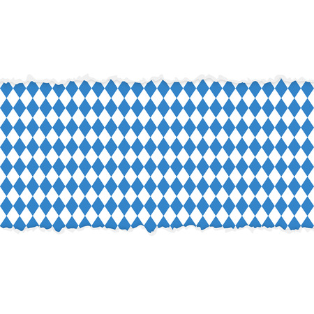 vector of ripped open paper German Oktoberfest