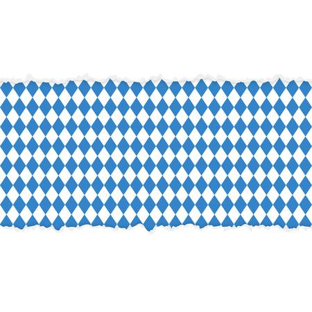 vector van opengescheurd papier Duits Oktoberfest
