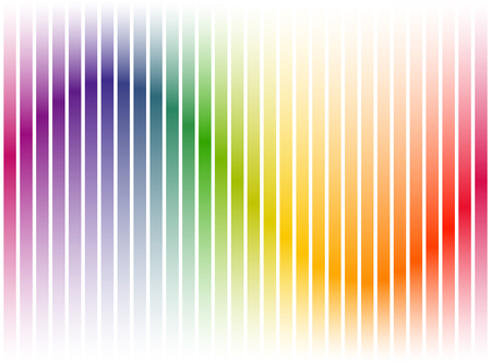 seamless digital equalizer stripes background with color gradient on white background