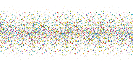 seamless colored confetti background for party or festival usage