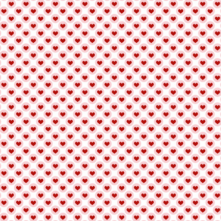 seamless pretty background with hearts and details in fine colors for valentine love time