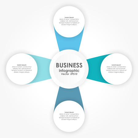 vector illustration of info graphic for team work business concepts Standard-Bild - 121237151