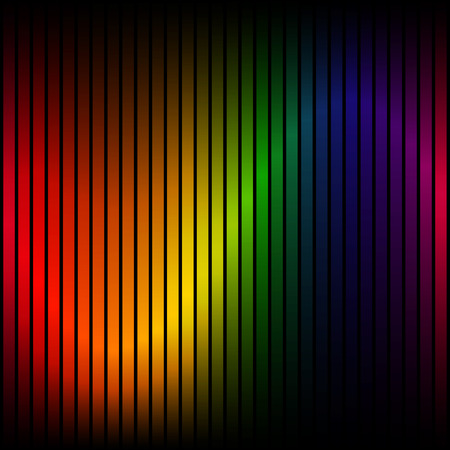 Colorful background stripes on white Standard-Bild - 121237199