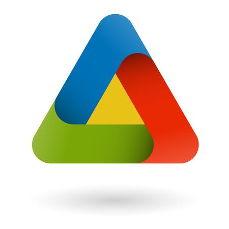 business design triangle Standard-Bild - 121237278