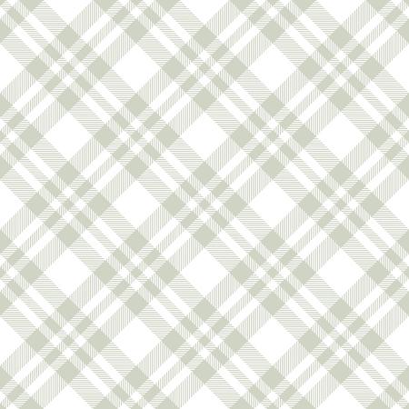 seamless green colored checkered table cloth background Ilustración de vector