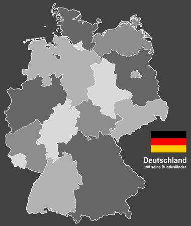 west european country germany and the federal states