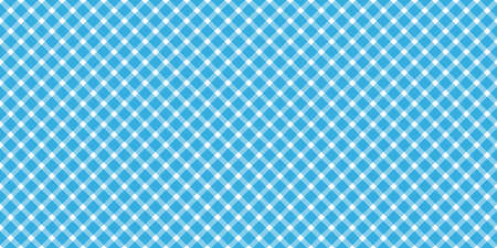 Oktoberfest 2020 background with seamless blue white checkered pattern