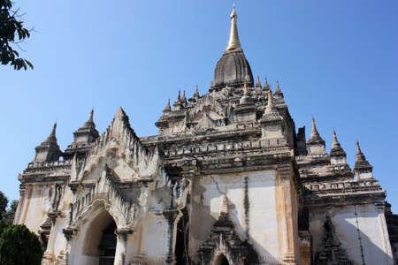 Beautiful view of Ananda Temple in Bagan, Myanmar