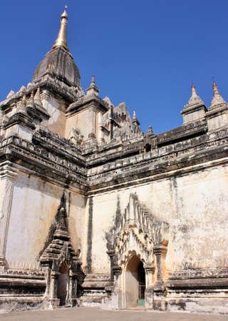 Beautiful architecture of Ananda Temple in Bagan, Myanmar