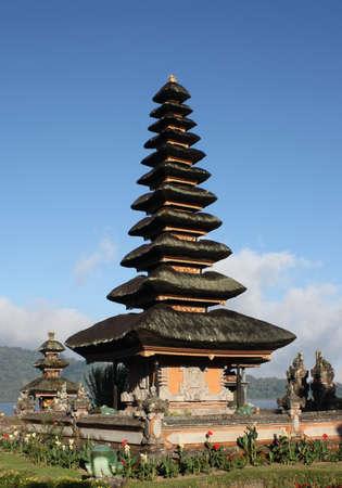 Beautiful temple in Bali Lake Temple