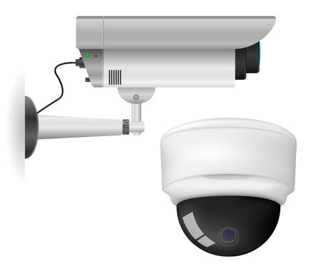 Beveiligingscamera Vector Illustratie