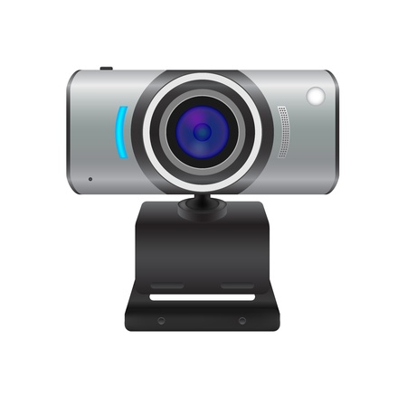 Webcam Stock Vector - 18008221
