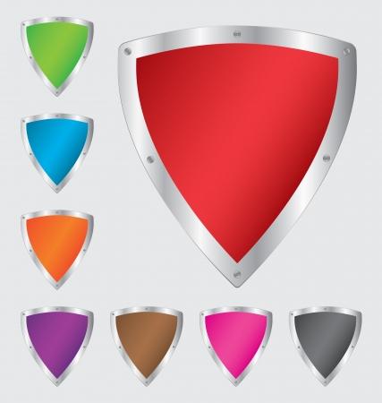 shield set: Colorful shield set