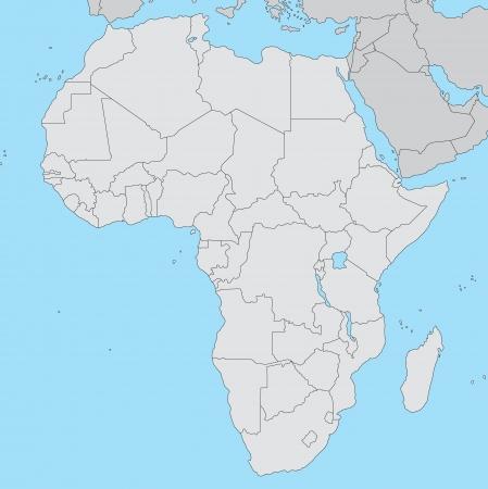 Overzicht van Afrika